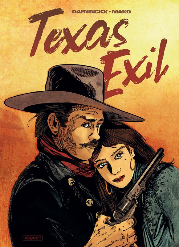 Texas exil, bd chez Paquet de Daeninckx, Mako, Alquier