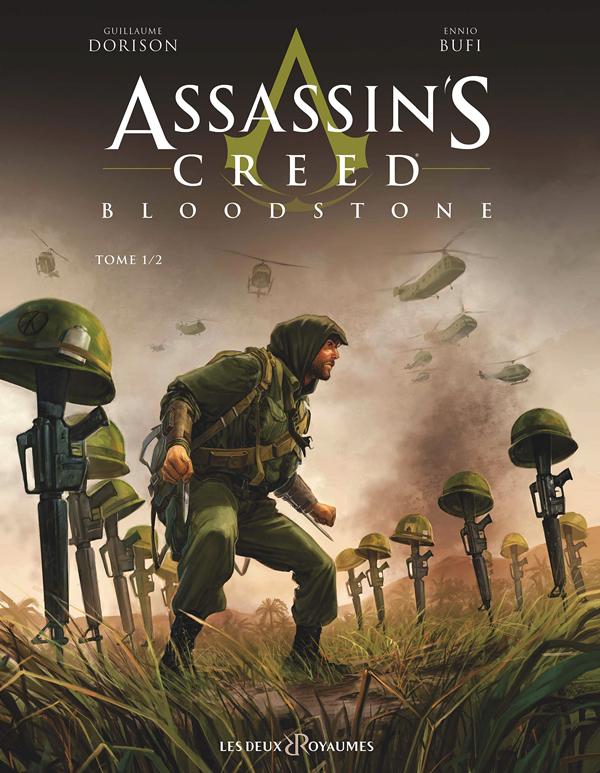 Assassin's creed Bloodstone T1, bd chez Les deux royaumes de Dorison, Bufi, de Rochebrune, Meloni
