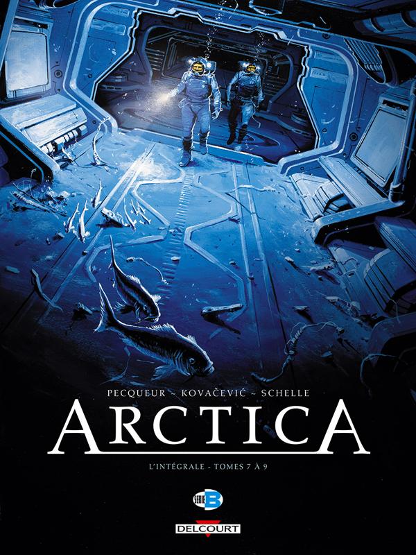 Arctica T3 : Tomes 4 à 7 (0), bd chez Delcourt de Pecqueur, Kovačević, Schelle