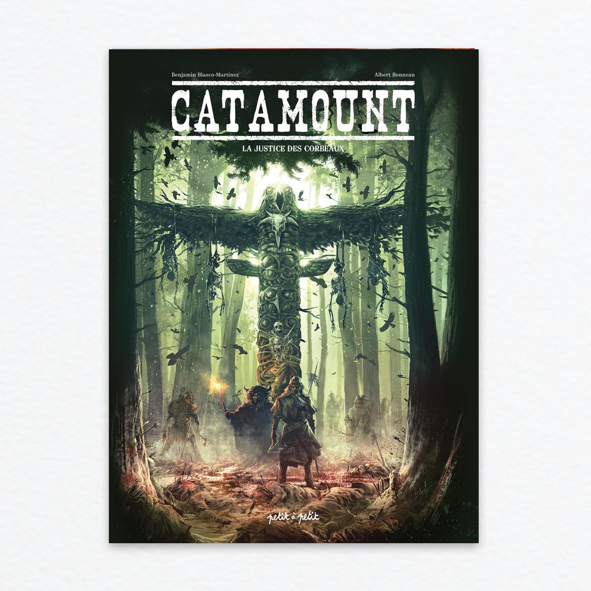 Catamount T3 : La justice des corbeaux (0), bd chez Petit à petit de Blasco-Martinez, Gaët's, Beaud