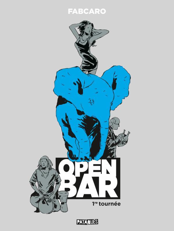 Open bar, bd chez Delcourt de Fabcaro