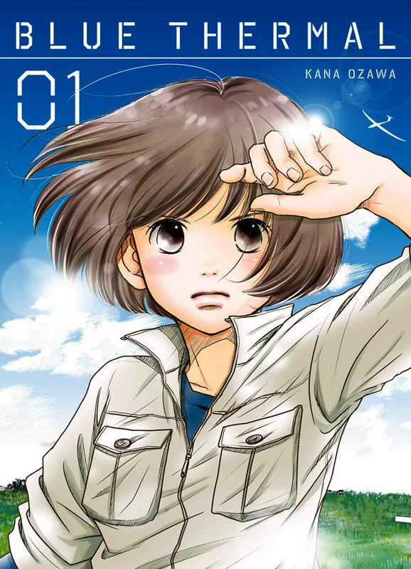 Blue thermal T1, manga chez Komikku éditions de Ozawa