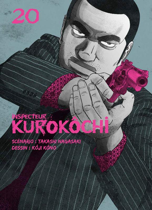 Inspecteur Kurokôchi T20, manga chez Komikku éditions de Nagasaki, Kôno