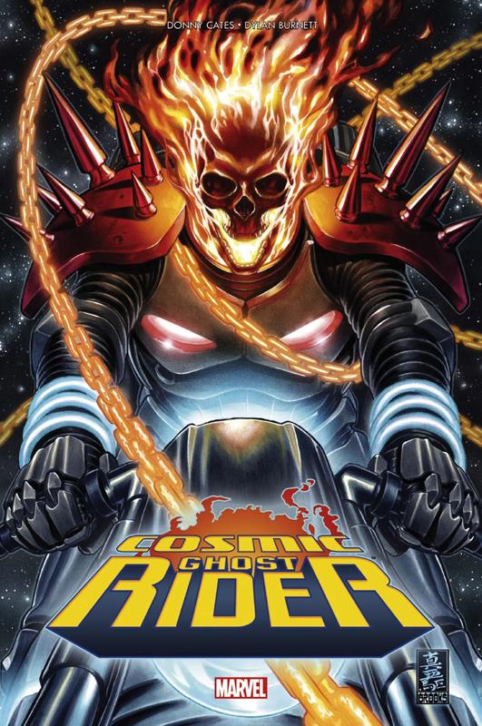 Cosmic Ghost Rider : Bébé Thanos doit mourir !  (0), comics chez Panini Comics de Cates, Burnett, Fabela