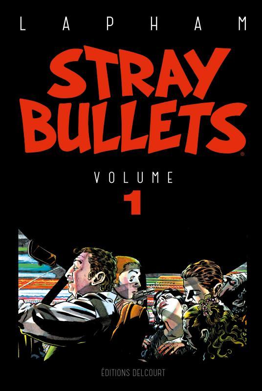 Stray Bullets T1, comics chez Delcourt de Lapham