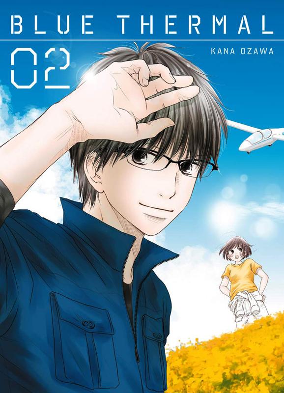 Blue thermal T2, manga chez Komikku éditions de Ozawa