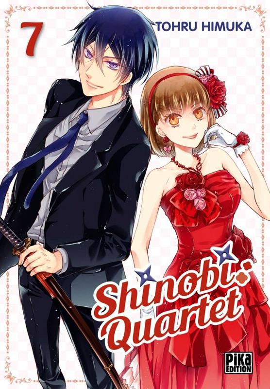 Shinobi quartet T7, manga chez Pika de Himuka