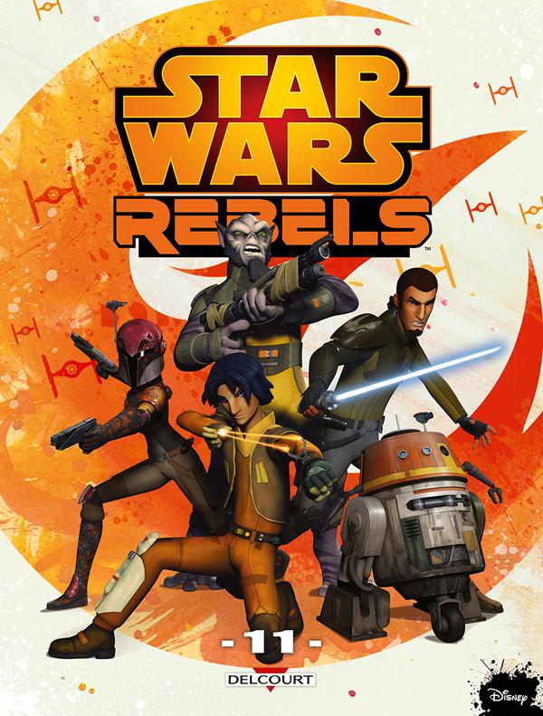 Star Wars Rebels T11, comics chez Delcourt de Barlow, Romling, Molesworth