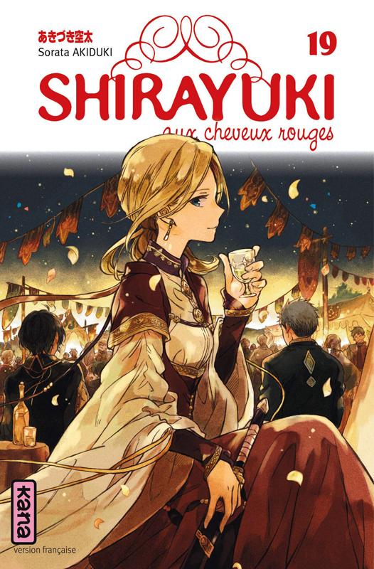 Shirayuki aux cheveux rouges T19, manga chez Kana de Akizuki