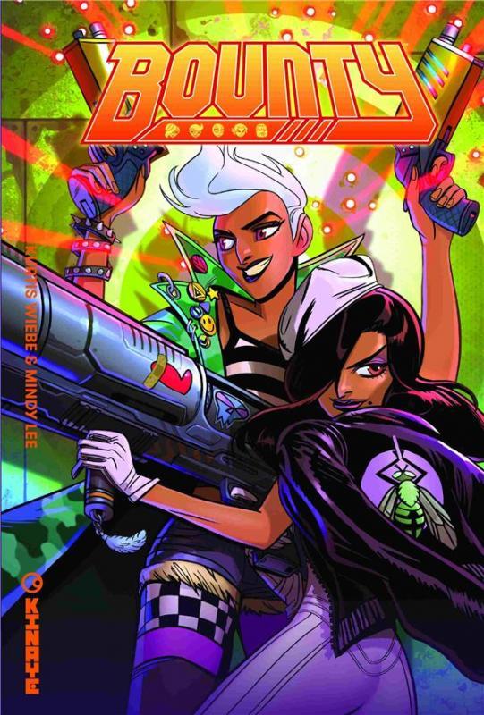 Bounty T1, comics chez Kinaye de Wiebe, Lee, Olea, Cotnam