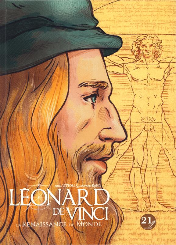 Léonard de Vinci : Mon compte (0), bd chez 21g de Kahil, Vittori