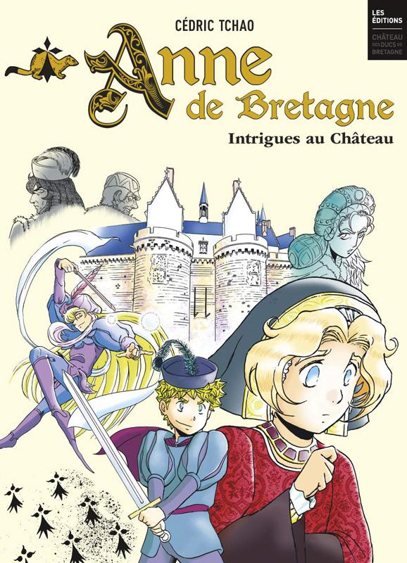 Anne de Bretagne, manga chez Casterman de Tchao