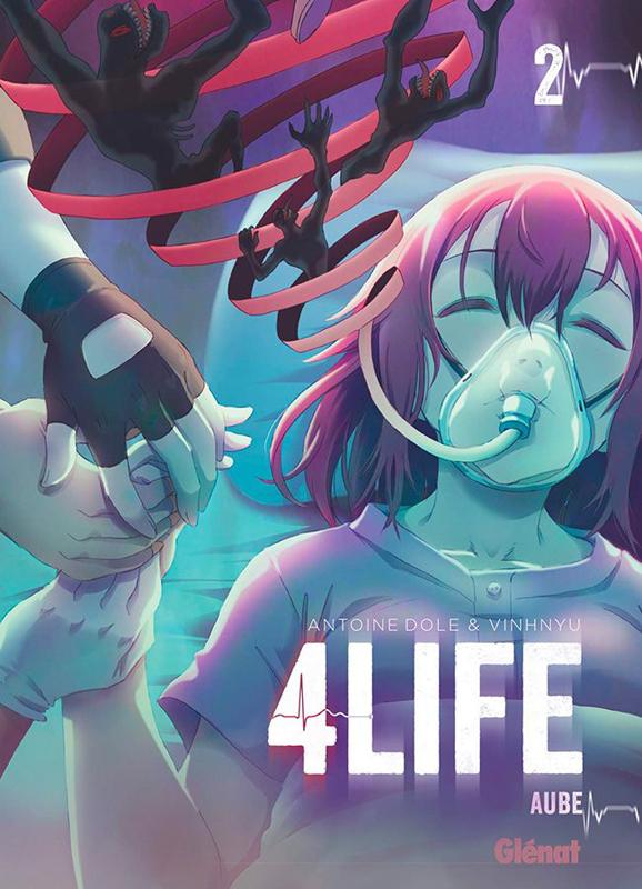 4 life T2, manga chez Glénat de Dole, Vinhnyu