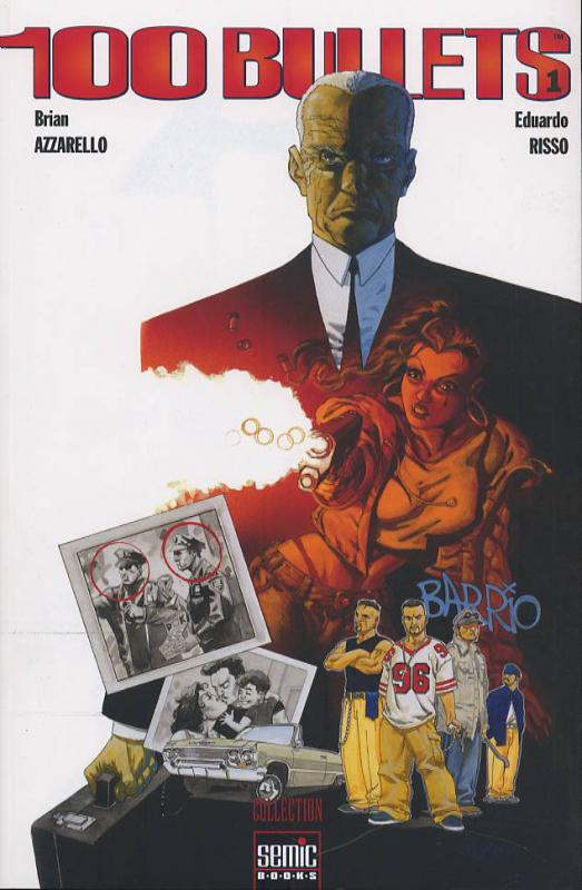 100 Bullets – Edition Softcover, T1 : First shot, last call (0), comics chez Semic de Azzarello, Risso, Johnson