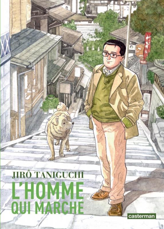 L'homme qui marche, manga chez Casterman de Taniguchi