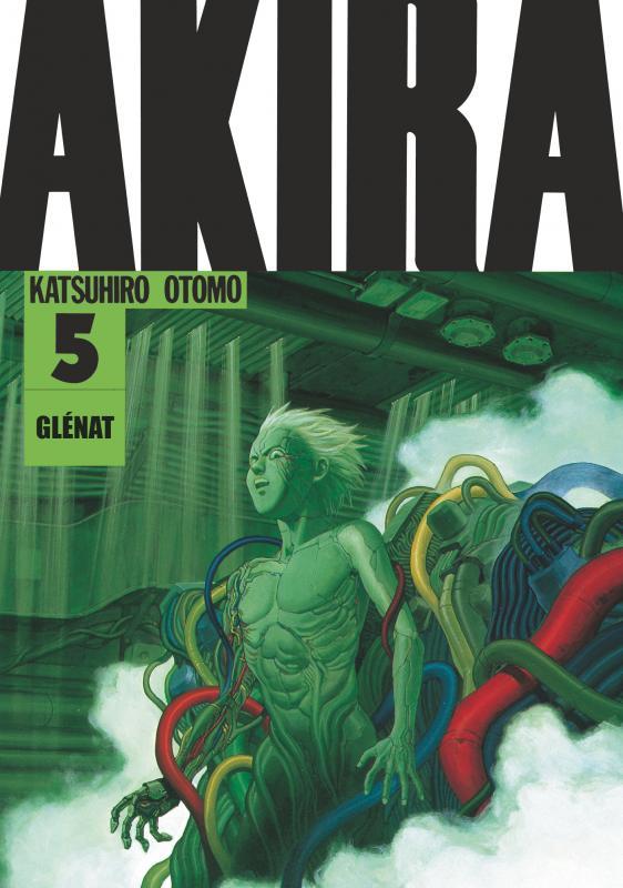 Akira (Noir et blanc) Edition originale T5, manga chez Glénat de Otomo