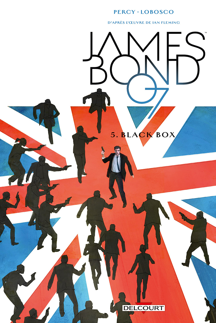 James Bond T5 : Black box (0), comics chez Delcourt de Percy, Lobosco, Bowland, Reardon