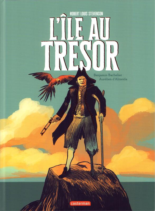 L'Île au trésor, bd chez Casterman de d'Almeida, Bachelier