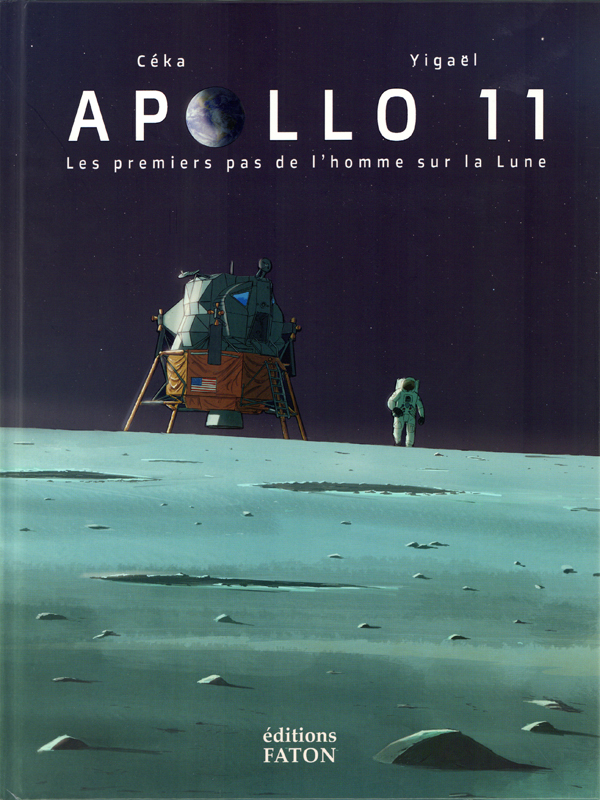 Apollo 11, bd chez Faton de Ceka, Yigaël