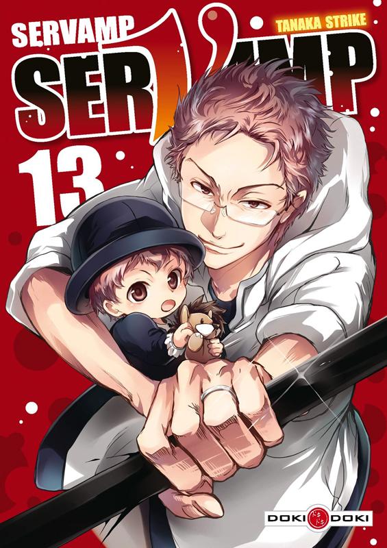 Servamp T13, manga chez Bamboo de Strike