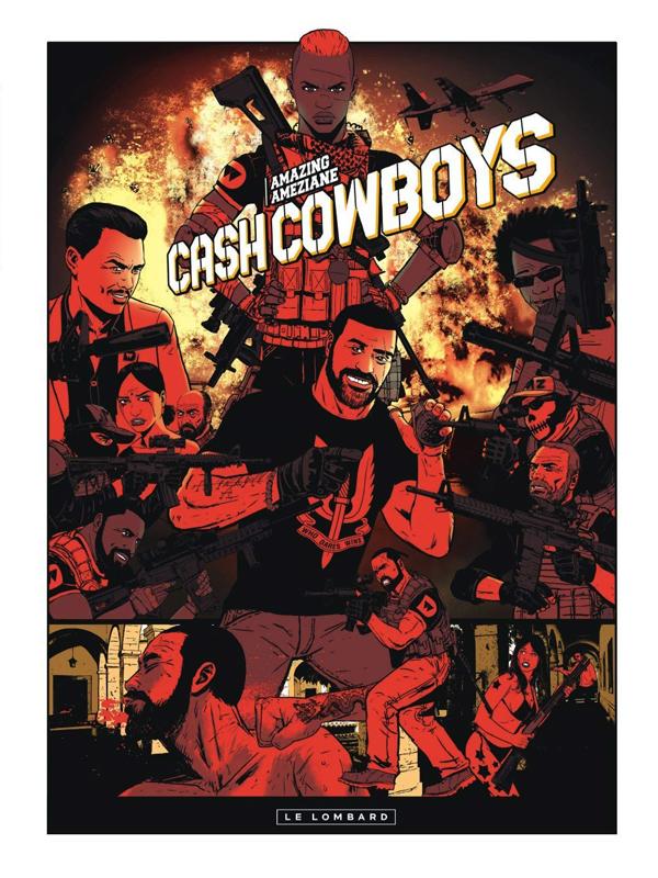 Cash cowboys, bd chez Le Lombard de Ameziane