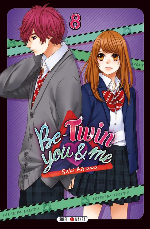 Be-twin you & me T8, manga chez Soleil de Aikawa