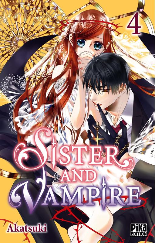 Sister and vampire  T4, manga chez Pika de Akatsuki