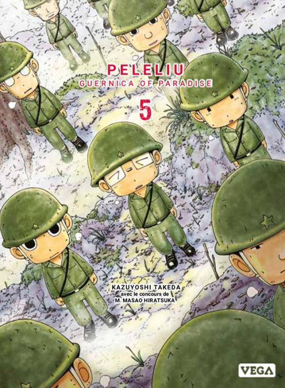 Peleliu - Guernica of paradise T5, manga chez Vega de Takeda