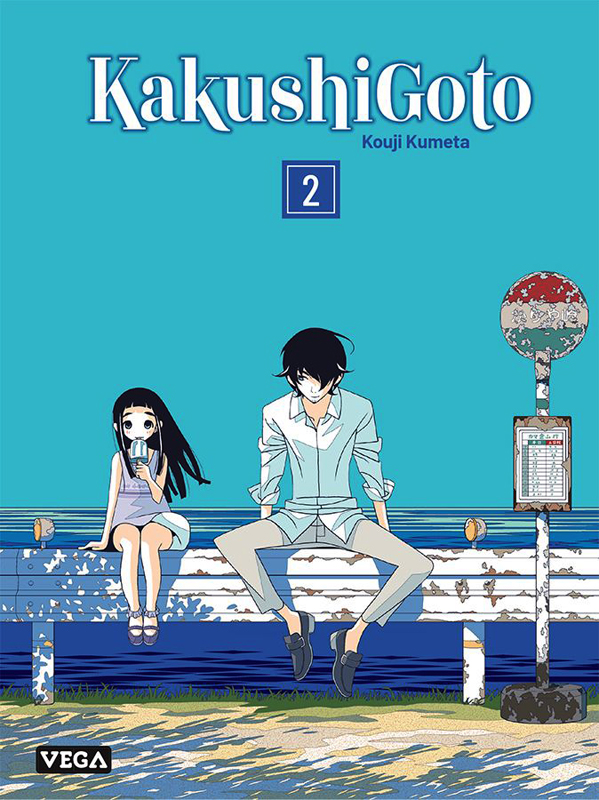 Kakushigoto T2, manga chez Vega de Kumeta