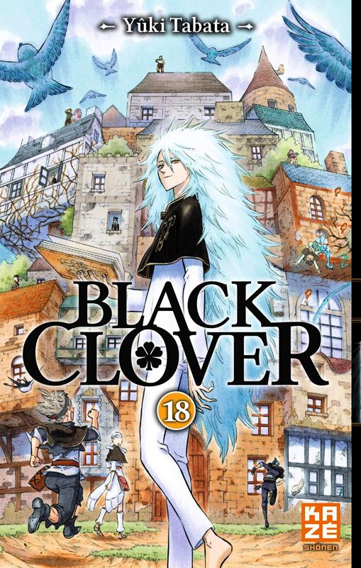 Black clover T18, manga chez Kazé manga de Tabata