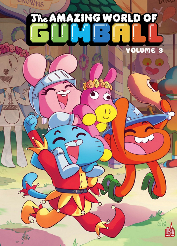 The amazing world of Gumball T3, comics chez Urban Comics de Brennan, Lawson, Farina, Cogar