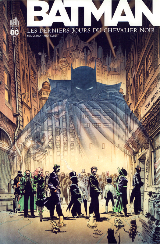 Batman : Les derniers jours du chevalier noir -  Edition de luxe (0), comics chez Urban Comics de Gaiman, Kubert, Sinclair