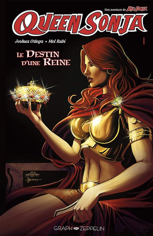 Queen Sonja : Le destin d'une reine (0), comics chez Graph Zeppelin de Ortega, Rubi, Andrade, Herbert