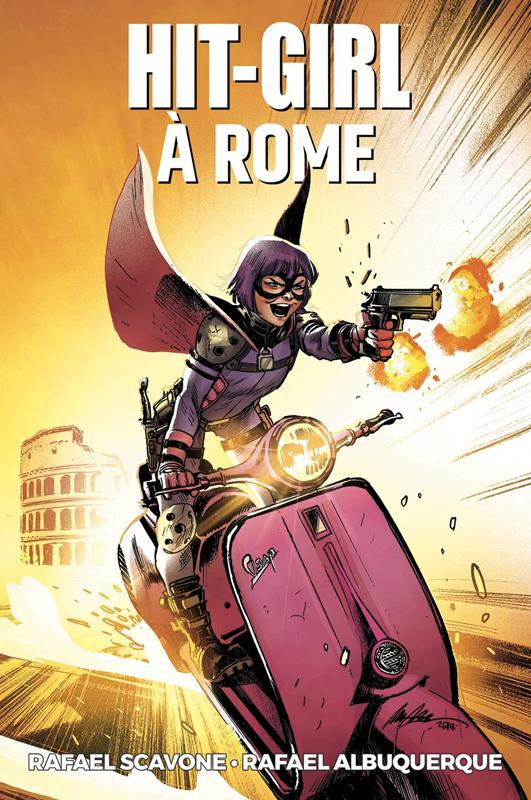 Hit-Girl T3 : Hit-Girl à Rome (0), comics chez Panini Comics de Albuquerque, Scavone, Maiolo