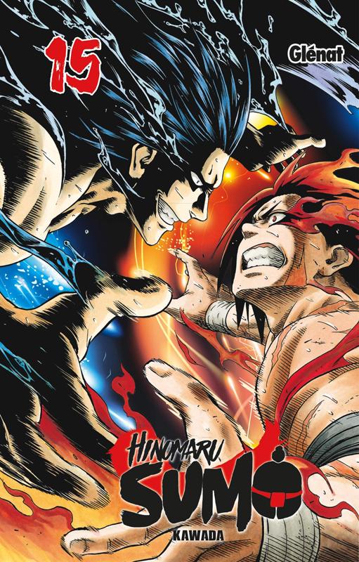 Hinomaru sumo T15, manga chez Glénat de Kawada