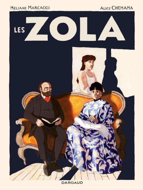 Les Zola, bd chez Dargaud de Marcaggi, Chemama