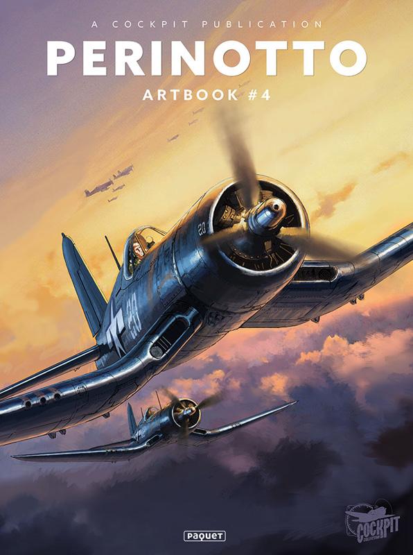 Lucio Perinotto Artbook T4, bd chez Paquet de Perinotto