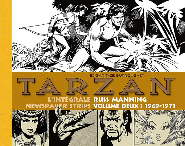 Tarzan - L'intégrale Russ Manning T2 : 1969-1971 (0), comics chez Graph Zeppelin de Manning