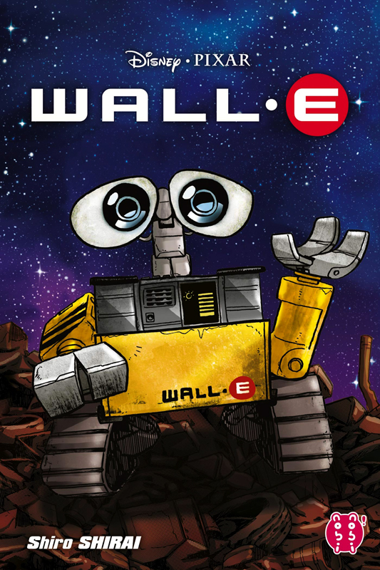 Wall-E, manga chez Nobi Nobi! de Shirai