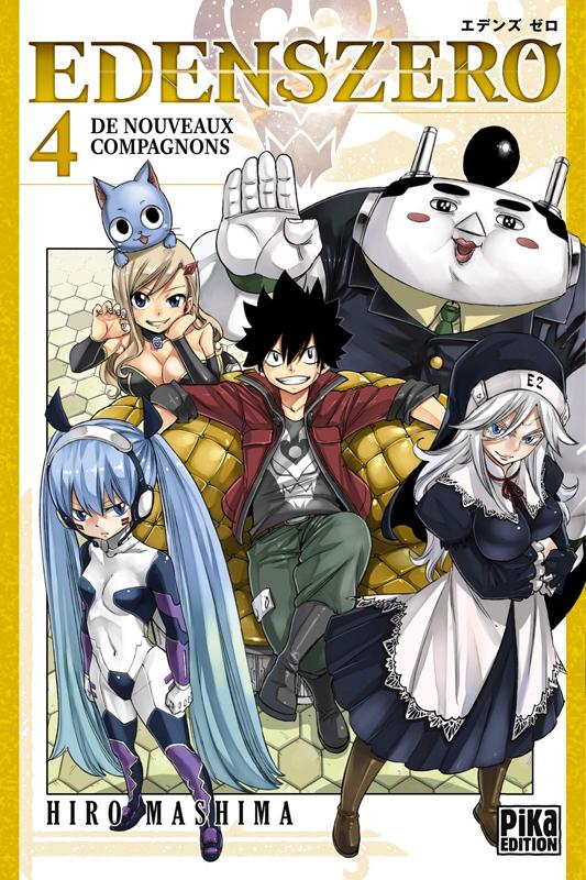 Edens zero T4, manga chez Pika de Mashima