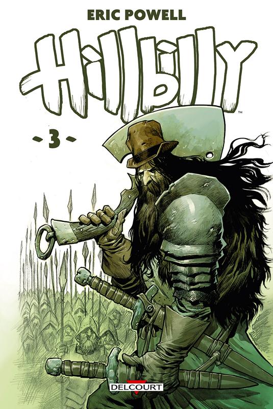 Hillbilly T3, comics chez Delcourt de Powell