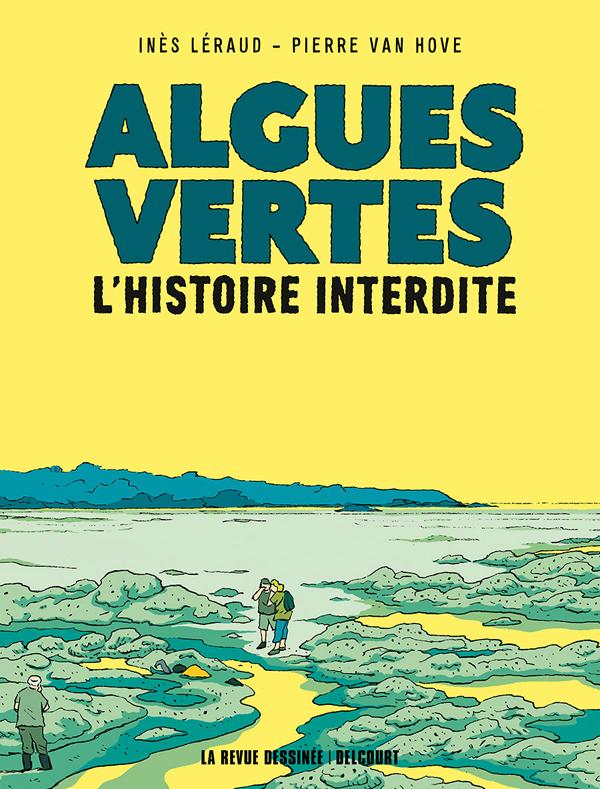 Algues vertes, bd chez Delcourt de Leraud, Van Hove, Mathilda