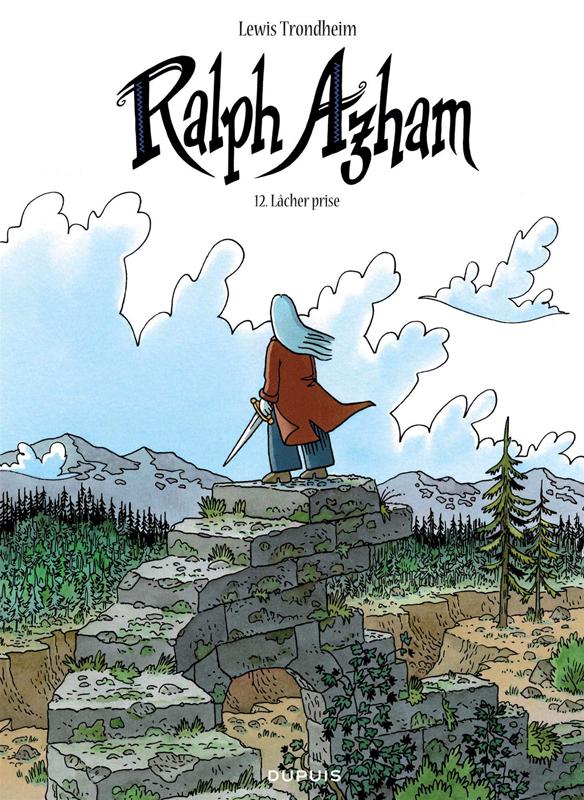 Ralph Azham T12 : Lâcher prise (0), bd chez Dupuis de Trondheim, Findakly