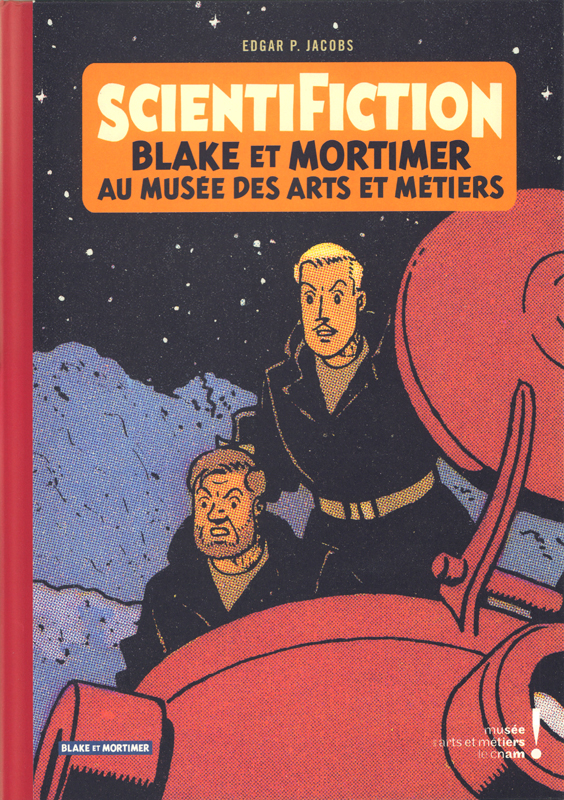 Autour de Blake & Mortimer T13 : Scientifiction (0), bd chez Blake et Mortimer de Bellefroid, Jacobs