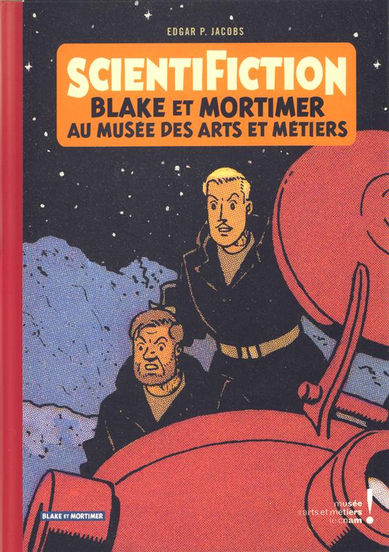 Autour de Blake & Mortimer T13 : Scientifiction (0), bd chez Blake et Mortimer de Bellefroid, Jacobs
