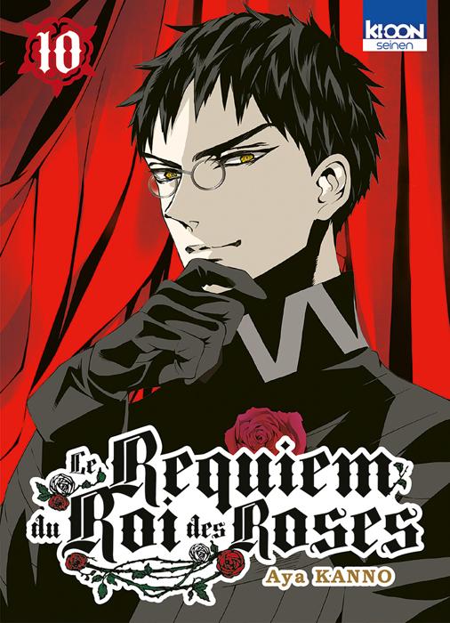 Le Requiem du roi des roses  T10, manga chez Ki-oon de Kanno
