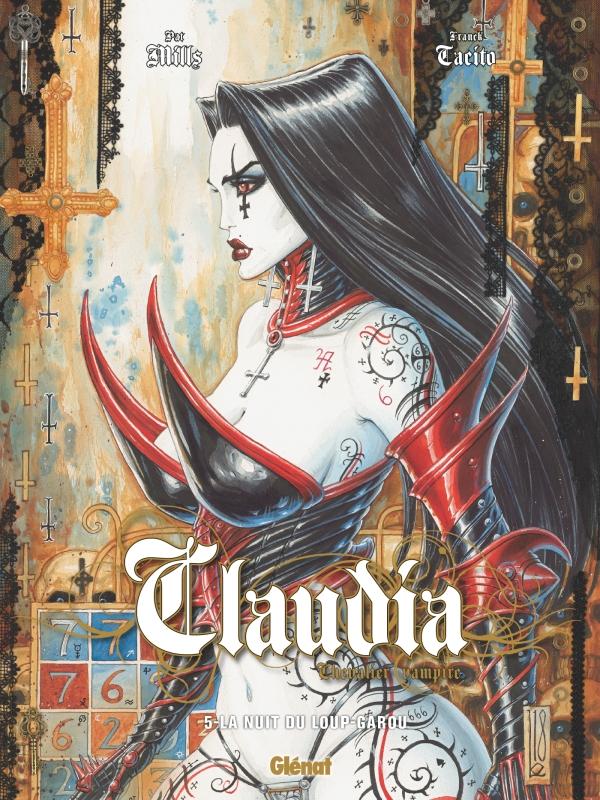 Claudia, Chevalier Vampire T5 : La nuit du loup-garou (0), bd chez Glénat de Mills, Tacito, Slo, Ledroit