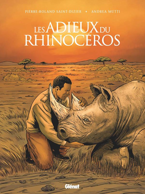 Adieux du rhinocéros, bd chez Glénat de Saint-Dizier, Mutti, Popov