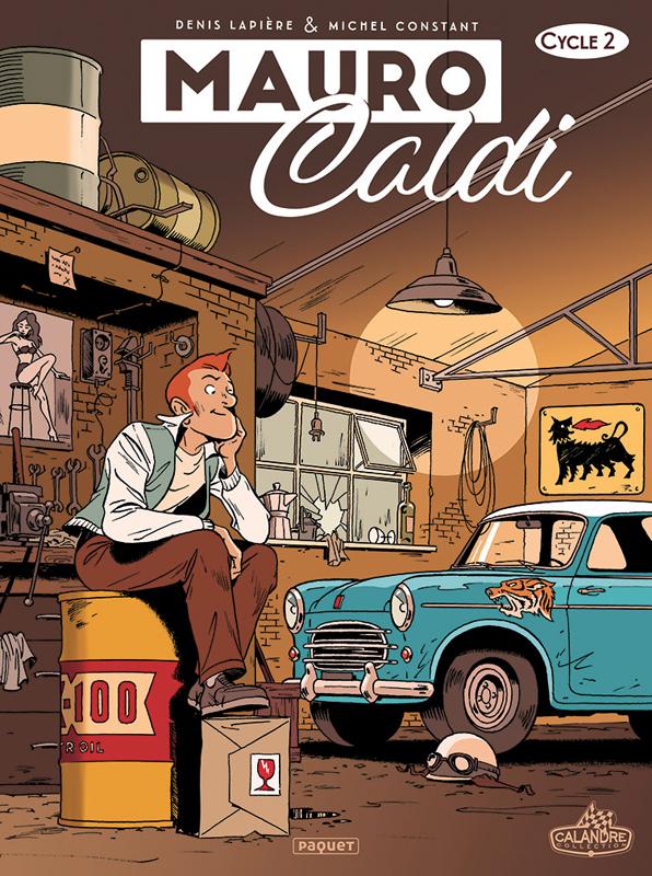 Mauro Caldi T2 : Cycle 2 (0), bd chez Paquet de Lapière, Constant, Constant
