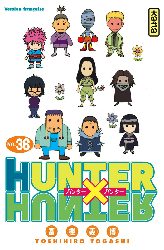 Hunter x Hunter T36, manga chez Kana de Togashi